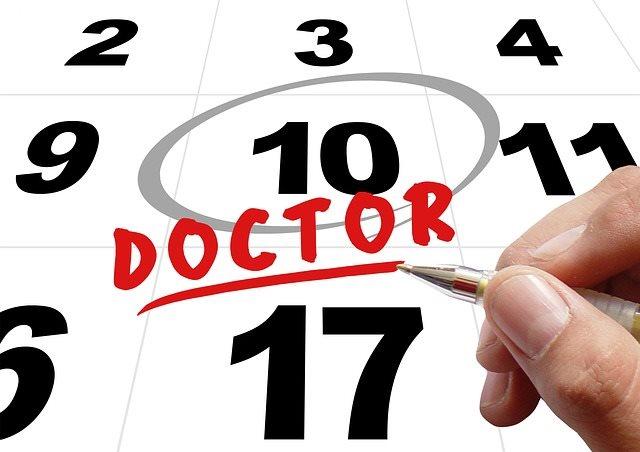 Время обращения к доктору
