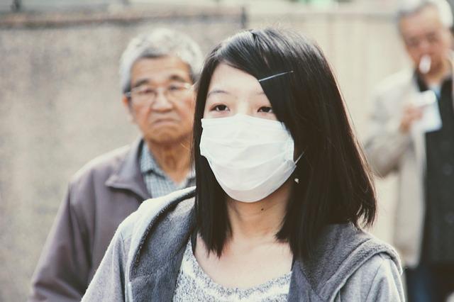 Защитная медицинская маска для лица