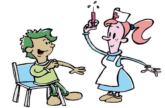 Пациент в прививочном кабинете