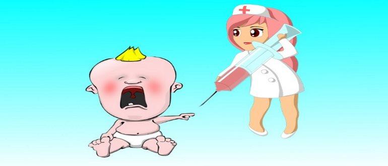 Введение под кожу пробы Манту медсестрой