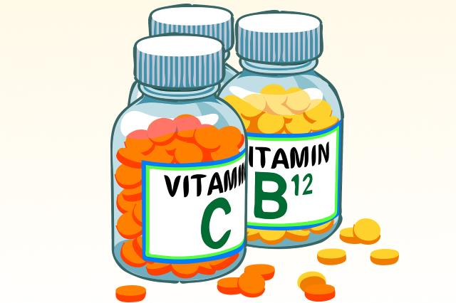 Если в еде мало витаминов употребляйте их отдельно