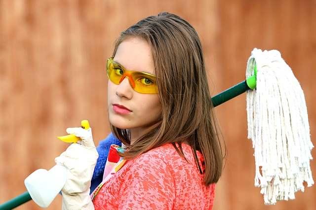 Уборку дома нужно проводить как можно чаще