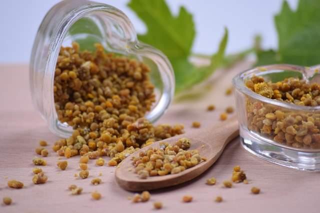 Пчелиная пыльца используется как средство против недуга