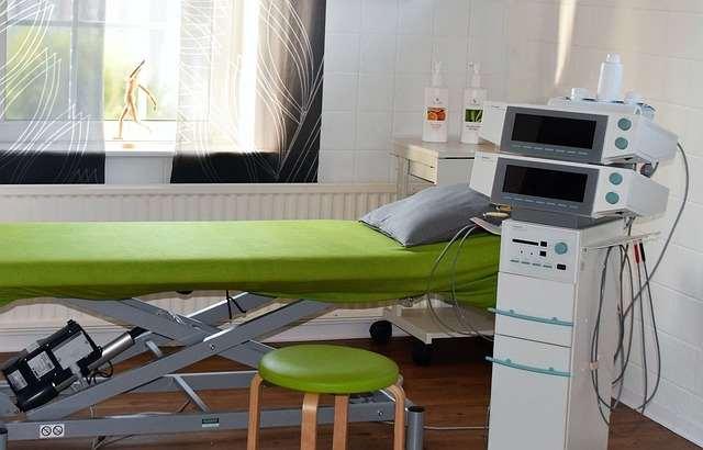 Кабинет физиотерапии в больнице