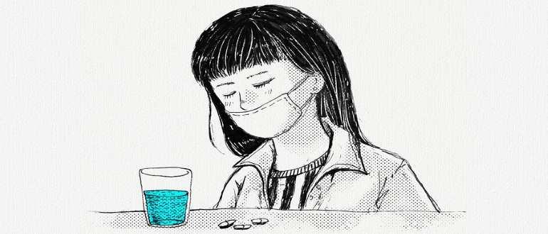 Прием таблеток при туберкулезе легких
