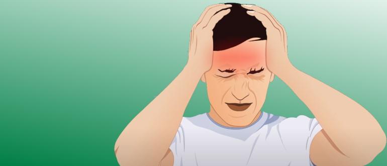 Из-за болезни появляются головные боли и головокружение