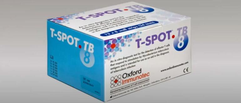 Для подтверждения диагноза применяют T-Spot тест