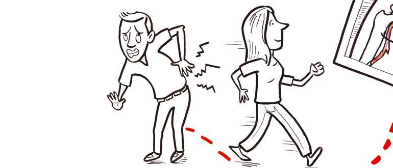 Ранние признаки спондилита – боли в спине