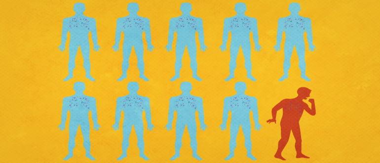 Источником инфекции является носитель микобактерии